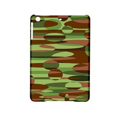 Green and Brown Spheres by Khoncepts.com Apple iPad Mini 2 Hardshell Case