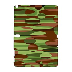 Green And Brown Spheres By Khoncepts Com Samsung Galaxy Note 10 1 (p600) Hardshell Case