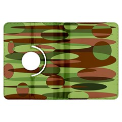 Green and Brown Spheres by Khoncepts.com Kindle Fire HDX 7  Flip 360 Case