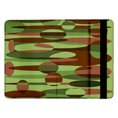 Green And Brown Spheres By Khoncepts Com Samsung Galaxy Tab Pro 12 2  Flip Case
