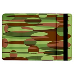 Green and Brown Spheres by Khoncepts.com Apple iPad Air Flip Case