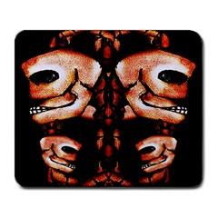 Skull Motif Ornament Large Mouse Pad (rectangle)