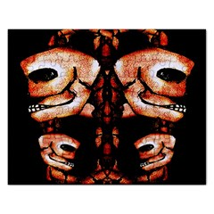 Skull Motif Ornament Jigsaw Puzzle (Rectangle)