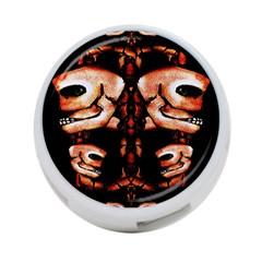 Skull Motif Ornament 4 Port Usb Hub (one Side)