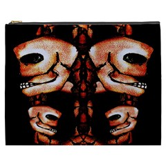 Skull Motif Ornament Cosmetic Bag (XXXL)