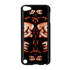 Skull Motif Ornament Apple Ipod Touch 5 Case (black)