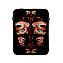 Skull Motif Ornament Apple Ipad Protective Sleeve