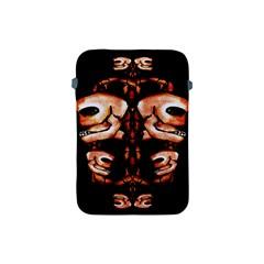 Skull Motif Ornament Apple Ipad Mini Protective Sleeve