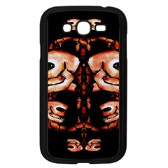 Skull Motif Ornament Samsung Galaxy Grand Duos I9082 Case (black)