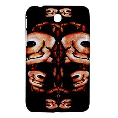 Skull Motif Ornament Samsung Galaxy Tab 3 (7 ) P3200 Hardshell Case