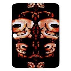Skull Motif Ornament Samsung Galaxy Tab 3 (10.1 ) P5200 Hardshell Case