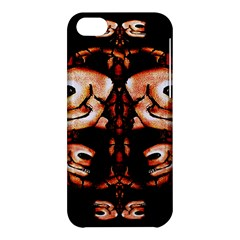 Skull Motif Ornament Apple Iphone 5c Hardshell Case