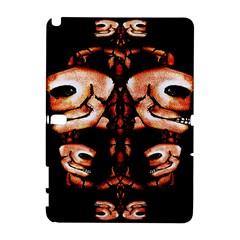 Skull Motif Ornament Samsung Galaxy Note 10 1 (p600) Hardshell Case