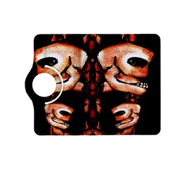 Skull Motif Ornament Kindle Fire HD 7  (2nd Gen) Flip 360 Case