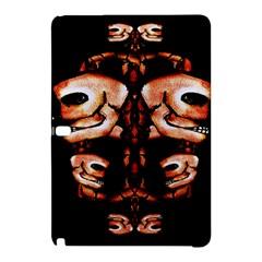 Skull Motif Ornament Samsung Galaxy Tab Pro 10 1 Hardshell Case