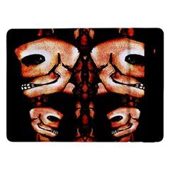Skull Motif Ornament Samsung Galaxy Tab Pro 12.2  Flip Case