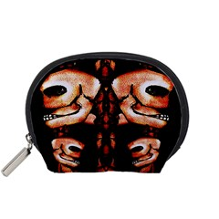 Skull Motif Ornament Accessories Pouch (small)
