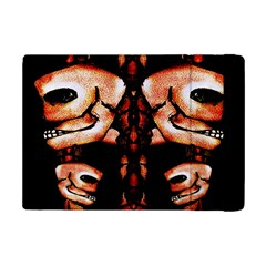 Skull Motif Ornament Apple Ipad Mini 2 Flip Case