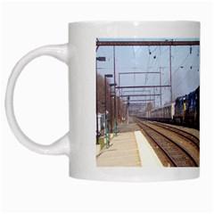 The Circus Train White Coffee Mug