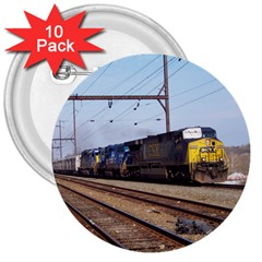The Circus Train 3  Button (10 pack)
