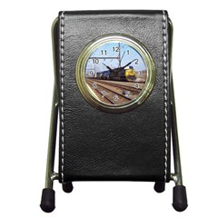The Circus Train Stationery Holder Clock