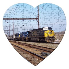 The Circus Train Jigsaw Puzzle (Heart)