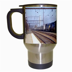 The Circus Train Travel Mug (White)