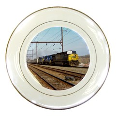 The Circus Train Porcelain Display Plate