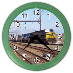 The Circus Train Wall Clock (Color)