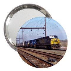 The Circus Train 3  Handbag Mirror