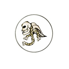 Angel Skull Golf Ball Marker 10 Pack (for Hat Clip)