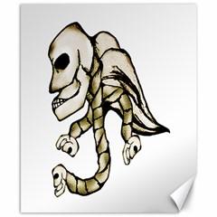 Angel Skull Canvas 8  x 10  (Unframed)