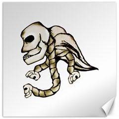 Angel Skull Canvas 20  x 20  (Unframed)
