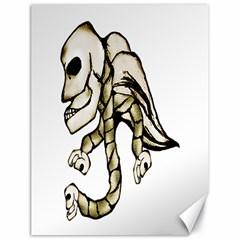 Angel Skull Canvas 18  x 24  (Unframed)
