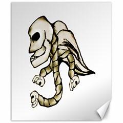 Angel Skull Canvas 20  X 24  (unframed)