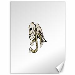 Angel Skull Canvas 36  x 48  (Unframed)