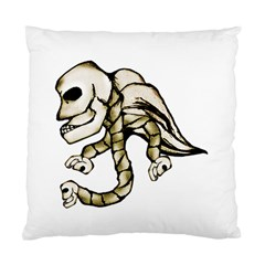 Angel Skull Cushion Case (Two Sided)