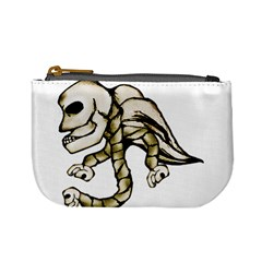 Angel Skull Coin Change Purse