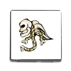 Angel Skull Memory Card Reader With Storage (square)