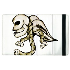 Angel Skull Apple iPad 2 Flip Case