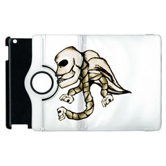 Angel Skull Apple iPad 3/4 Flip 360 Case