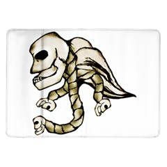 Angel Skull Samsung Galaxy Tab 10 1  P7500 Flip Case
