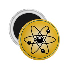 Atom Symbol 2.25  Button Magnet