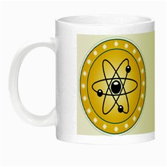Atom Symbol Glow In The Dark Mug