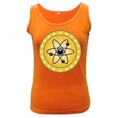 Atom Symbol Women s Tank Top (Dark Colored)