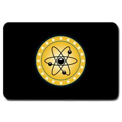 Atom Symbol Large Door Mat