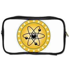 Atom Symbol Travel Toiletry Bag (one Side)