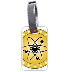 Atom Symbol Luggage Tag (One Side)