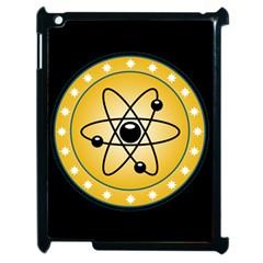 Atom Symbol Apple iPad 2 Case (Black)