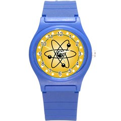 Atom Symbol Plastic Sport Watch (Small)